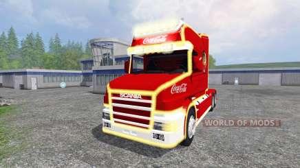 Scania T164 Coca-Cola Christmas pour Farming Simulator 2015