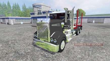 Kenworth T908 [logger] pour Farming Simulator 2015
