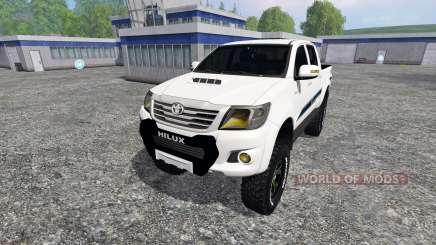 Toyota Hilux v1.2 für Farming Simulator 2015