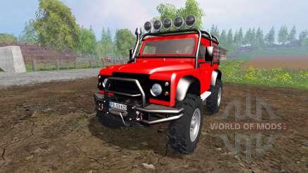 Land Rover Defender 90 [offroad] pour Farming Simulator 2015