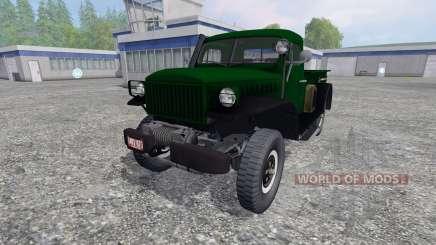 Dodge Power Wagon WM-300 pour Farming Simulator 2015