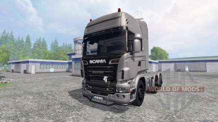 Scania R730 [Silver] v3.0 für Farming Simulator 2015