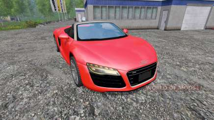 Audi R8 Spyder v1.0 pour Farming Simulator 2015