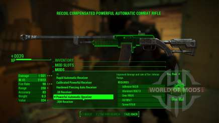 Overpowered Weapon mods pour Fallout 4