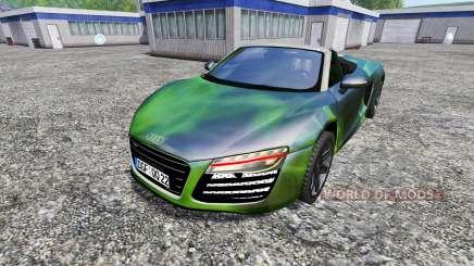 Audi R8 Spyder [NOS] für Farming Simulator 2015