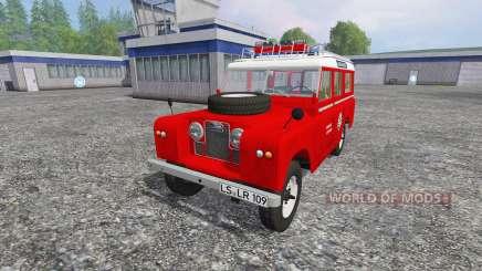 Land Rover Series IIa Station Wagon [feuerwehr] pour Farming Simulator 2015