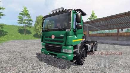 Tatra Phoenix T 158 6x6 [AgroTruck] pour Farming Simulator 2015
