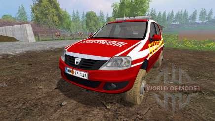 Dacia Logan [feuerwehr] für Farming Simulator 2015