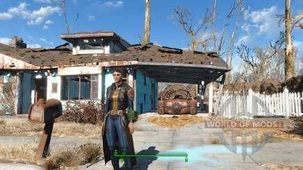 The Bad-Ass Vault Dweller Long Coat für Fallout 4
