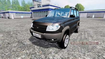 UAZ-3163 dns_event_unknown_service_port Patriot pour Farming Simulator 2015