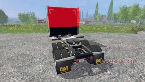 Peterbilt 388 [red and black] für Farming Simulator 2015