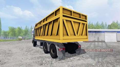 KamAZ-5490 [dump truck] pour Farming Simulator 2015