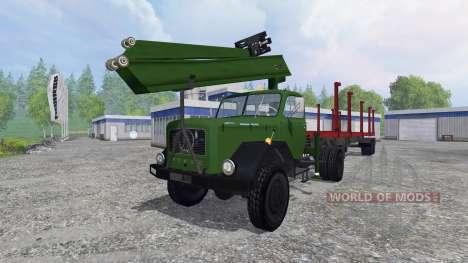Magirus-Deutz 200D26 1964 [forest] für Farming Simulator 2015