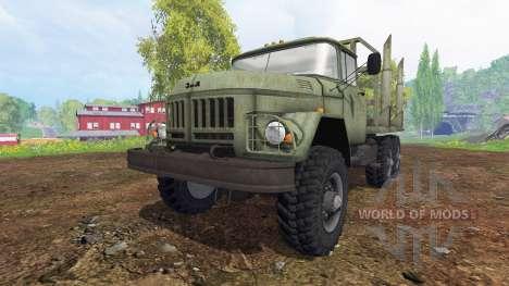ZIL-131 [Holz] für Farming Simulator 2015