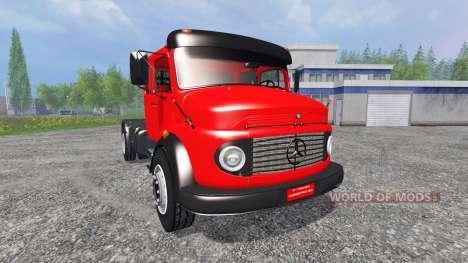 Mercedes-Benz 1519 für Farming Simulator 2015
