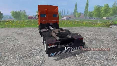 KamAZ-54115 [rouge] pour Farming Simulator 2015