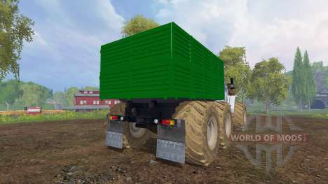 Ural-4320 [roues] pour Farming Simulator 2015