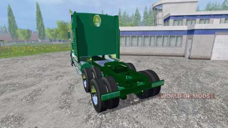 Kenworth T908 [John Deere] pour Farming Simulator 2015