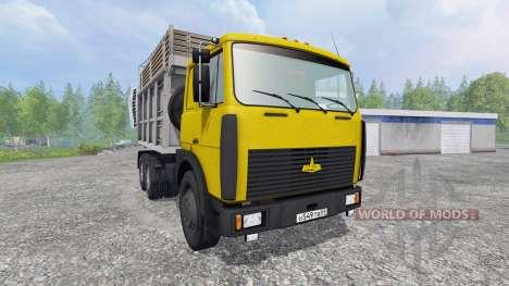 MAZ-5516 [multicolor] v2.0 für Farming Simulator 2015