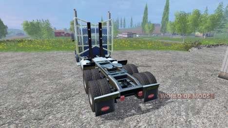 Peterbilt 379 2007 v1.1 pour Farming Simulator 2015