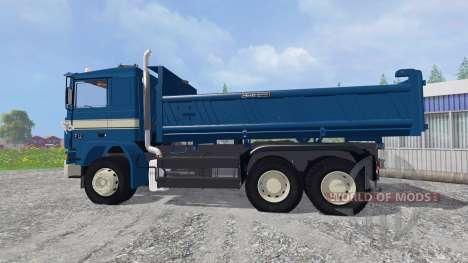 Volvo F12 6x4 [tipper] v1.9 pour Farming Simulator 2015