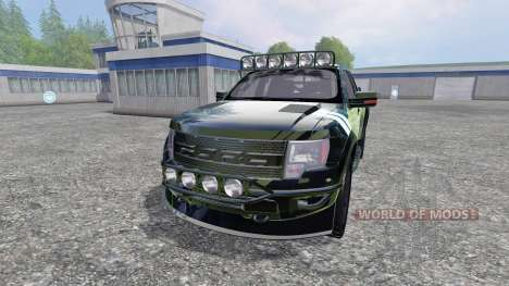 Ford F-150 Raptor [Halo Edition] v1.1 pour Farming Simulator 2015