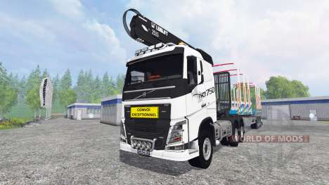 Volvo FH16 750 [forest] pour Farming Simulator 2015