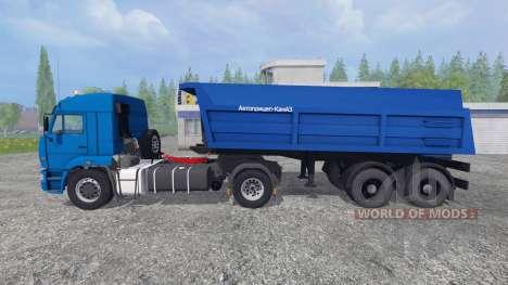 KamAZ-5460 [bande-annonce] pour Farming Simulator 2015