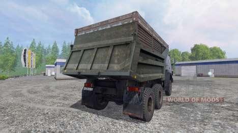 KamAZ-55111 v4.0 für Farming Simulator 2015