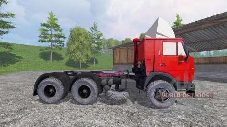KamAZ 5410 v1.2 pour Farming Simulator 2015