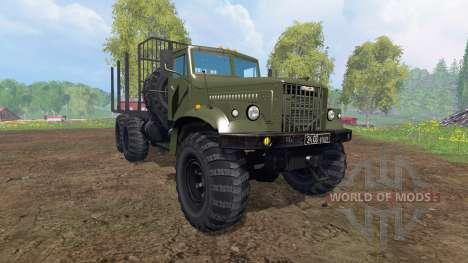 KrAZ-255 B1 [bois] v2.0 pour Farming Simulator 2015