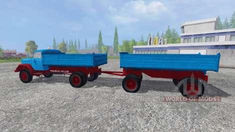 Magirus-Deutz 200D26 1964 [tipper] v1.1 pour Farming Simulator 2015