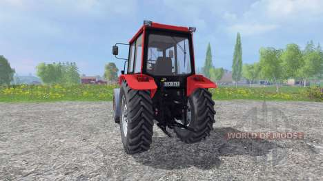 Biélorussie-1025.3 pour Farming Simulator 2015
