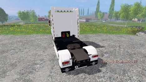 DAF XF105 pour Farming Simulator 2015