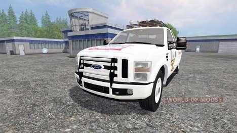 Ford F-350 [Budweiser] für Farming Simulator 2015