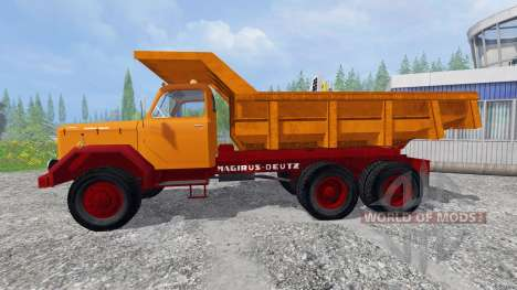 Magirus-Deutz 200D26 1964 [tipper] für Farming Simulator 2015
