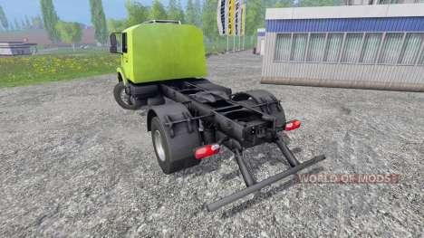 Mercedes-Benz Zetros 1833 pour Farming Simulator 2015
