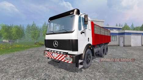 Mercedes-Benz 2435 [tipper] v0.2.5b pour Farming Simulator 2015