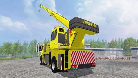 MAN TGA [crane] pour Farming Simulator 2015