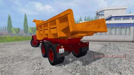 Magirus-Deutz 200D26 1964 [tipper] pour Farming Simulator 2015