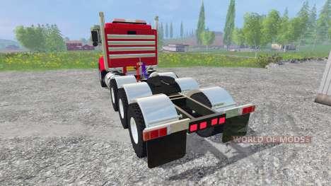 Kenworth T800 v2.0 für Farming Simulator 2015