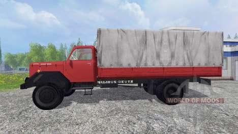 Magirus-Deutz 200D26 1964 [feuerwehr] pour Farming Simulator 2015