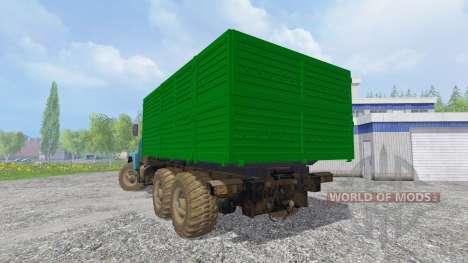 Der KrAZ-6322 v1.2 für Farming Simulator 2015
