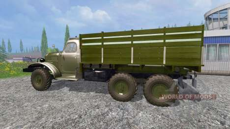 ZIL-157 [GKB-817] v4.0 für Farming Simulator 2015