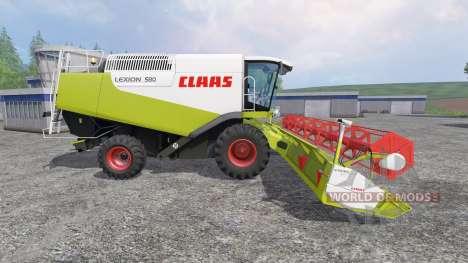 CLAAS Lexion 580 für Farming Simulator 2015