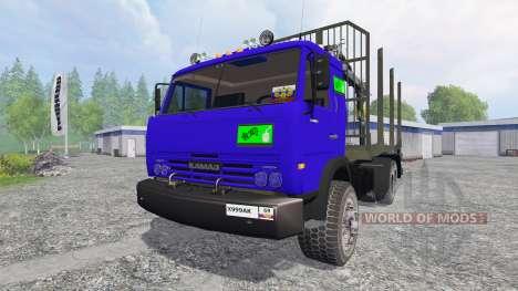 KamAZ-54115 [LKW] v1.0 für Farming Simulator 2015