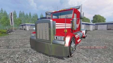 Kenworth W900 v2.0 pour Farming Simulator 2015
