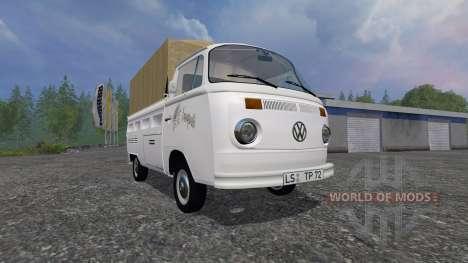 Volkswagen Transporter T2B 1972 [trailer] für Farming Simulator 2015