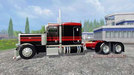 Peterbilt 379 [flat top] pour Farming Simulator 2015