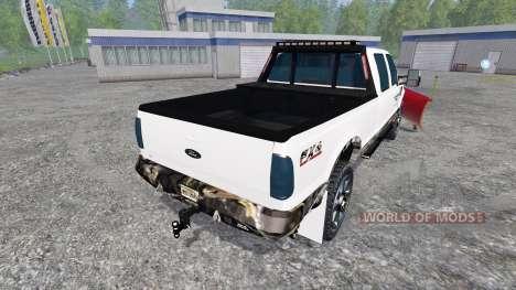 Ford F-250 [plow] für Farming Simulator 2015